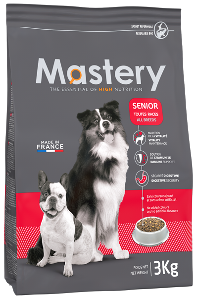 Pack Chien Senior - Mastery